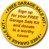 Free Garage Sale Kit